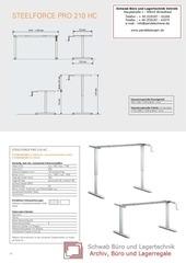 PDF Document sitzstehtisch steelforce 210 hc