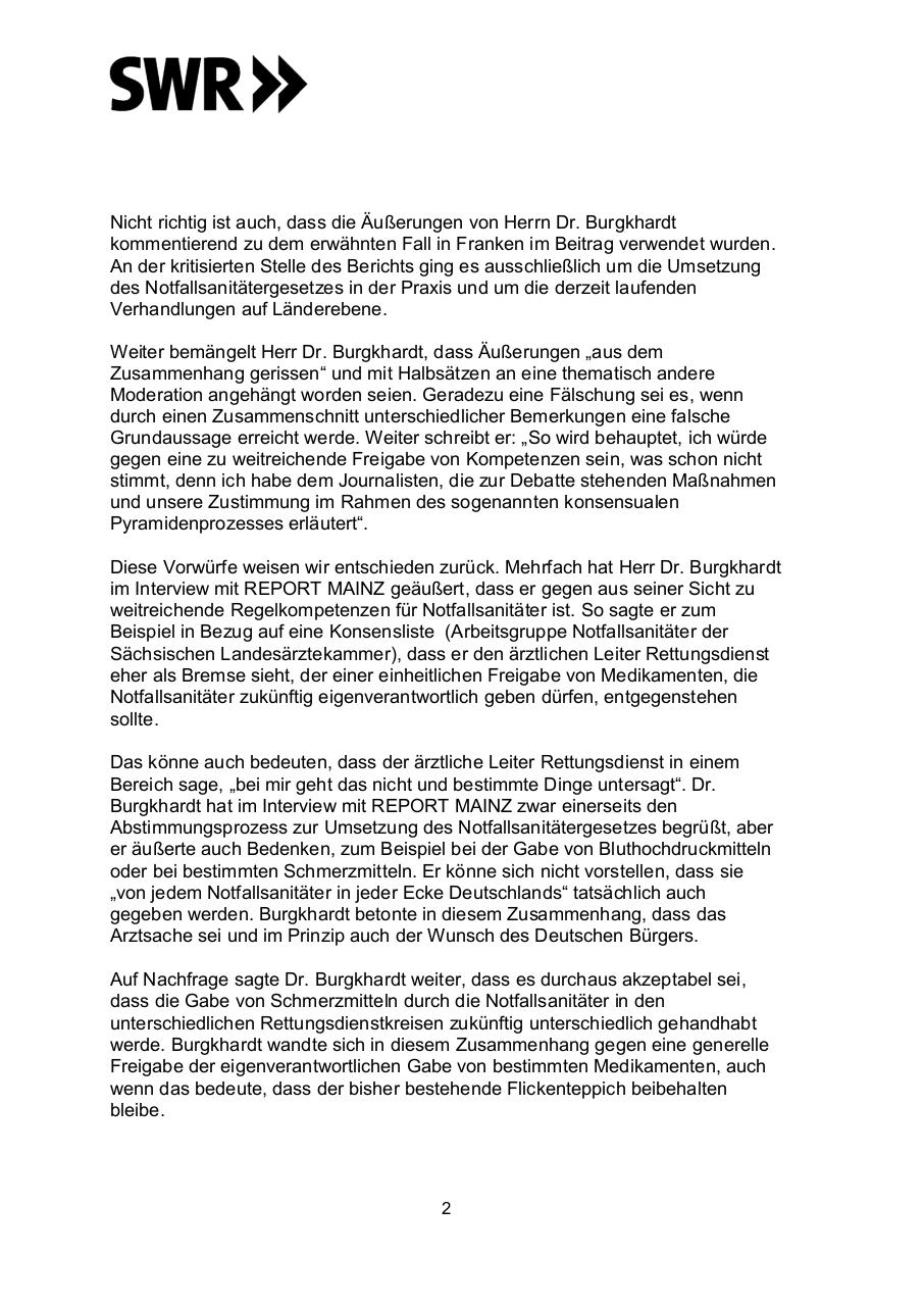 Document preview Stellungnahme REPORT MAINZ.pdf - page 2/3