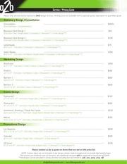 pricing guide dec 2013
