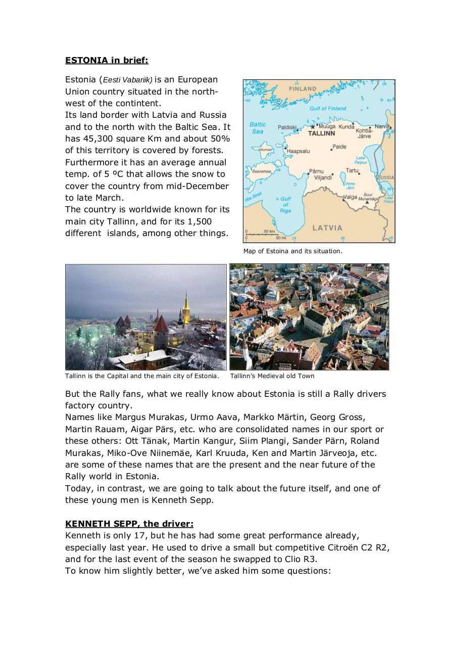 Document preview ESTONIA in brief.pdf - page 1/5