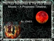 the four blood moons timeline