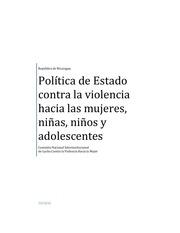 politica de estado contra la violencia