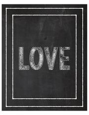 love chalk 8x10