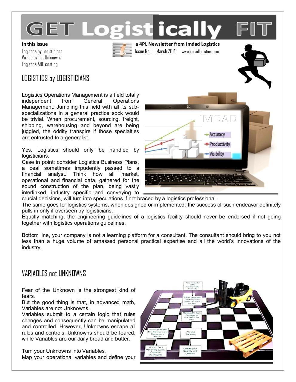 Document preview Imdad Newsletter Issue 1.pdf - page 1/2