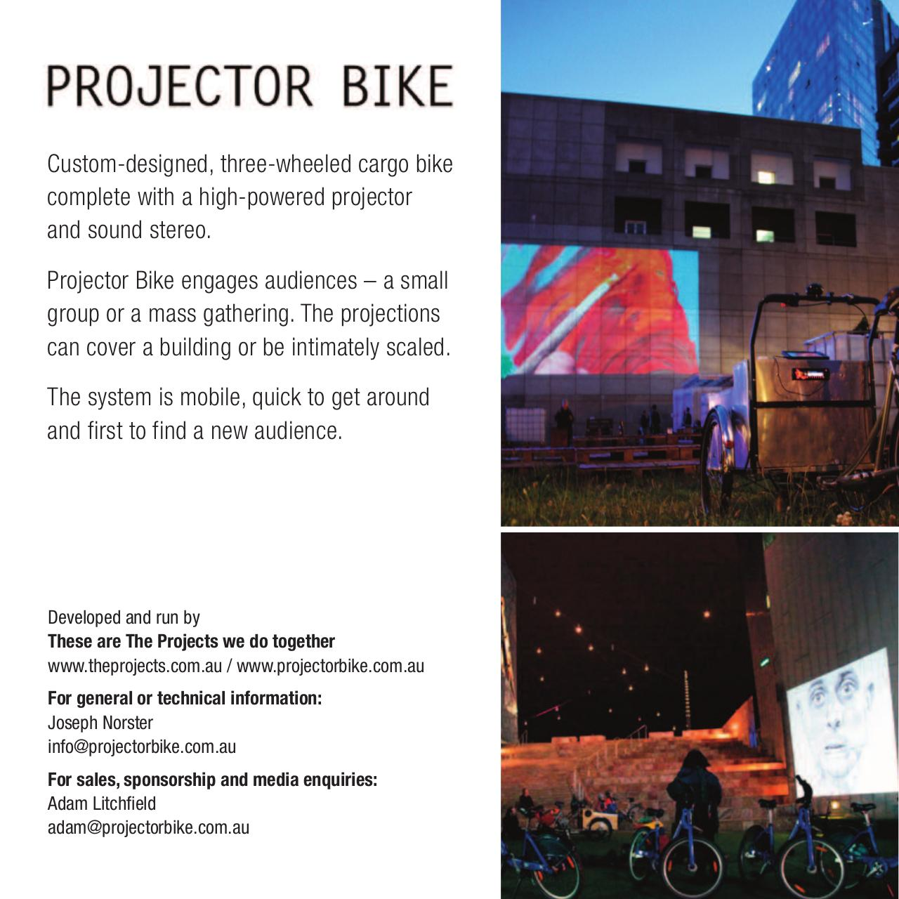 Document preview Projector Bike.pdf - page 1/4