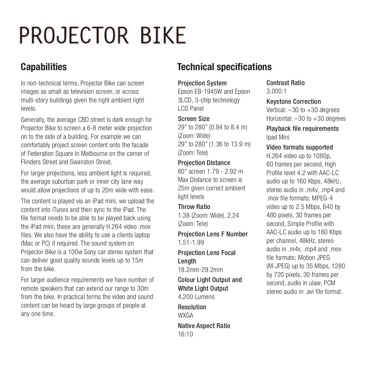Document preview Projector Bike.pdf - page 3/4