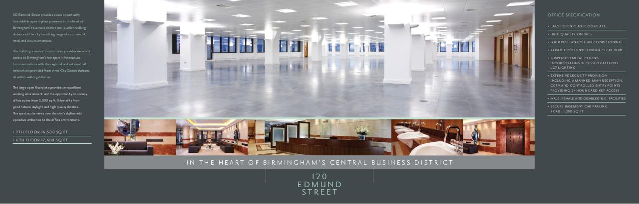 Document preview 120 Edmund Street – Office space to rent in Birmingham.pdf - page 2/2