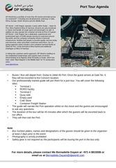 PDF Document agenda port tour jan 2014
