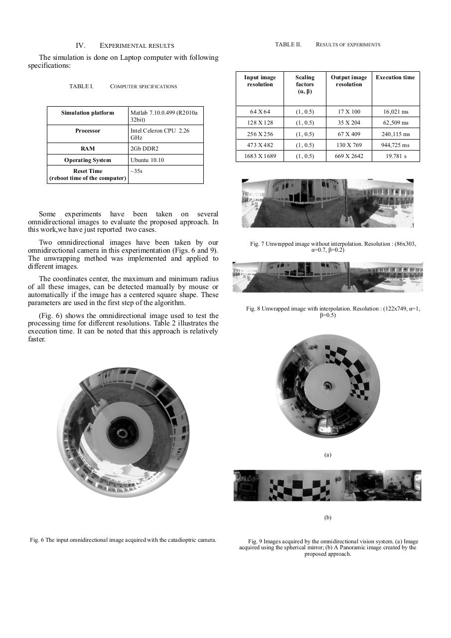 Document preview An omnidirectional image unwrapping approach ID221.pdf - page 3/4