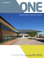 one bracknell boulevard office space to rent