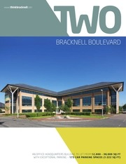 two bracknell boulevard office space to rent