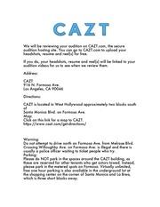 PDF Document 2 cazt for actors