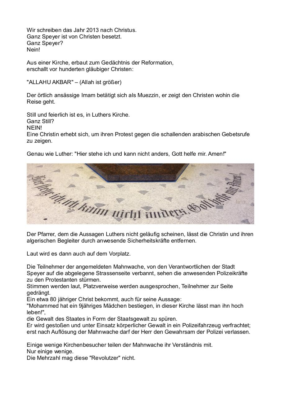 Document preview ORG - Speyer 10.11.2013 KLEIN.pdf - page 2/3