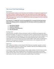 the great v160 fluid challenge rev1