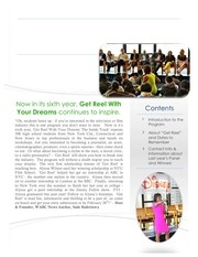 get reel 2014 brochure