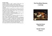 programma flauto e chitarra