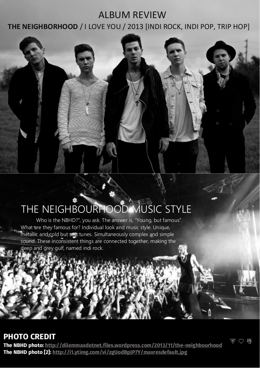 The Neighbourhood. I Love You Album Review.pdf - page 1/3