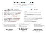 alex gwilliam resume portfolio de high 2