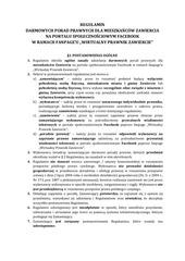 regulamin wirtualny prawnik zawiercie