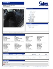 2013cl63 condition report