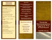 talmudic transgressions conference program