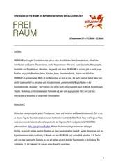 PDF Document information freiraum