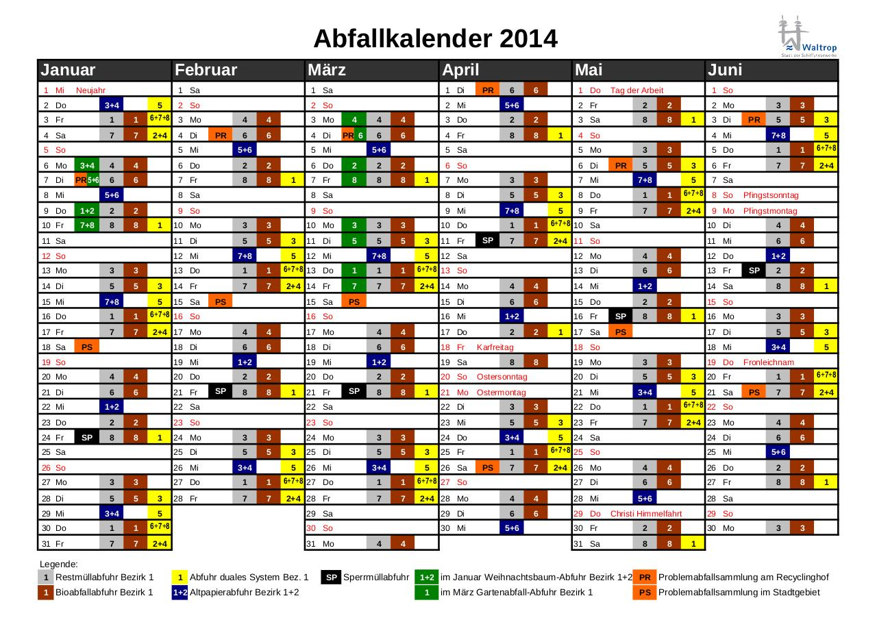 Document preview Abfallkalender_2014_-_alle_Bezirke(1).pdf - page 1/2