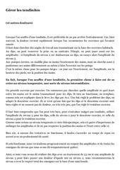 PDF Document gerer les tendinites
