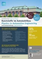vdi kongress kunststoffe im automobilbau 2014 programm