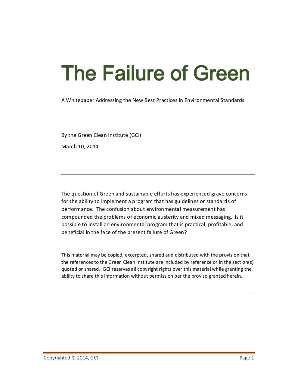 The Failure of Green.pdf - page 1/10