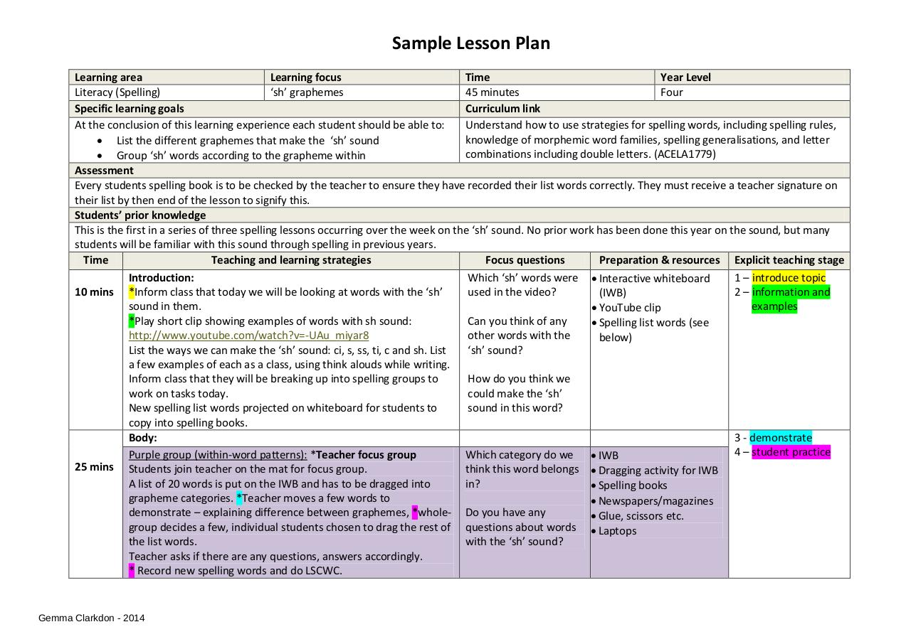 Document preview Sample Lesson Plan.pdf - page 1/2