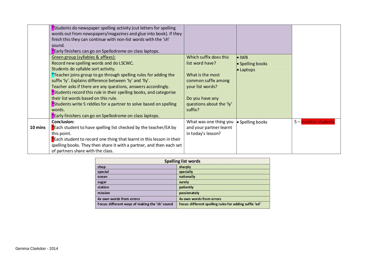 Document preview Sample Lesson Plan.pdf - page 2/2