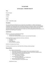 PDF Document scl research analyst job description 1