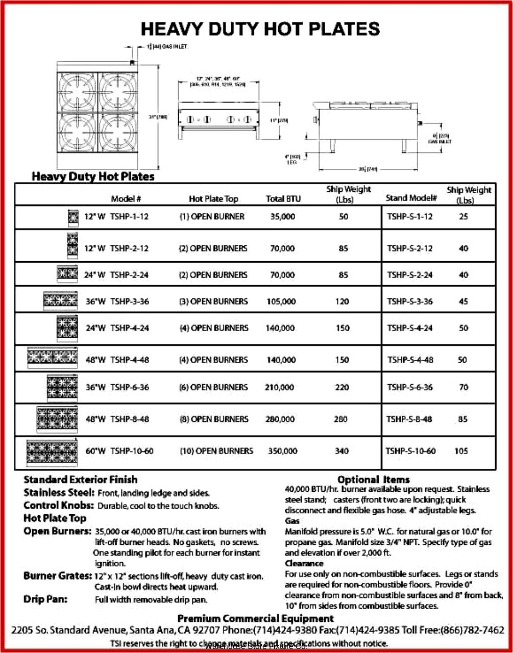 Document preview Tri-Star TSHP-2-12.pdf - page 3/3