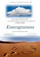 volantino enneagramma venerd 4 aprile