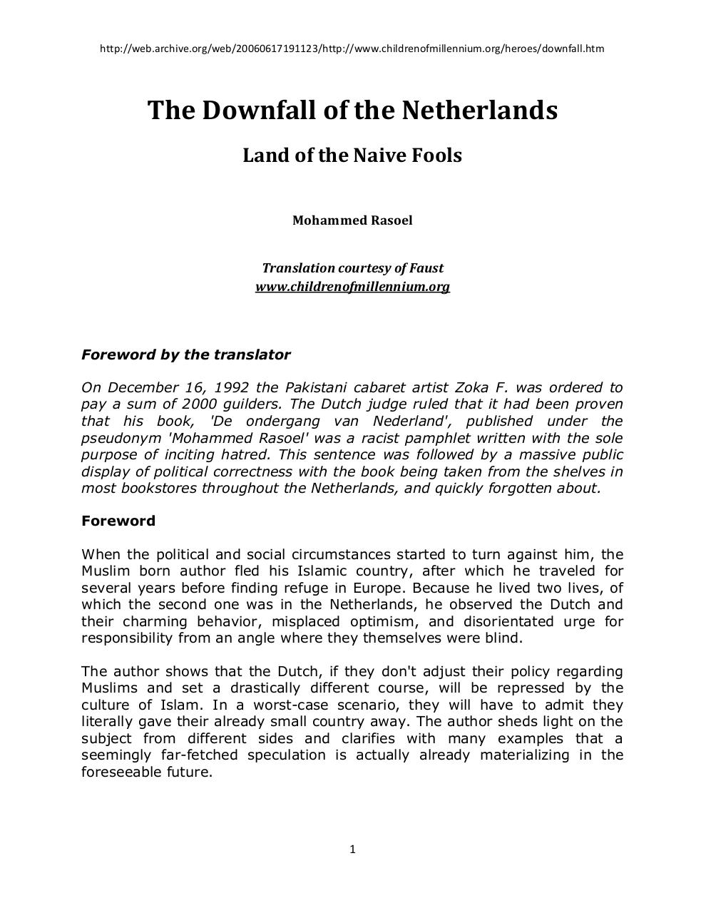The Downfall Of The Netherlands.pdf - page 1/54