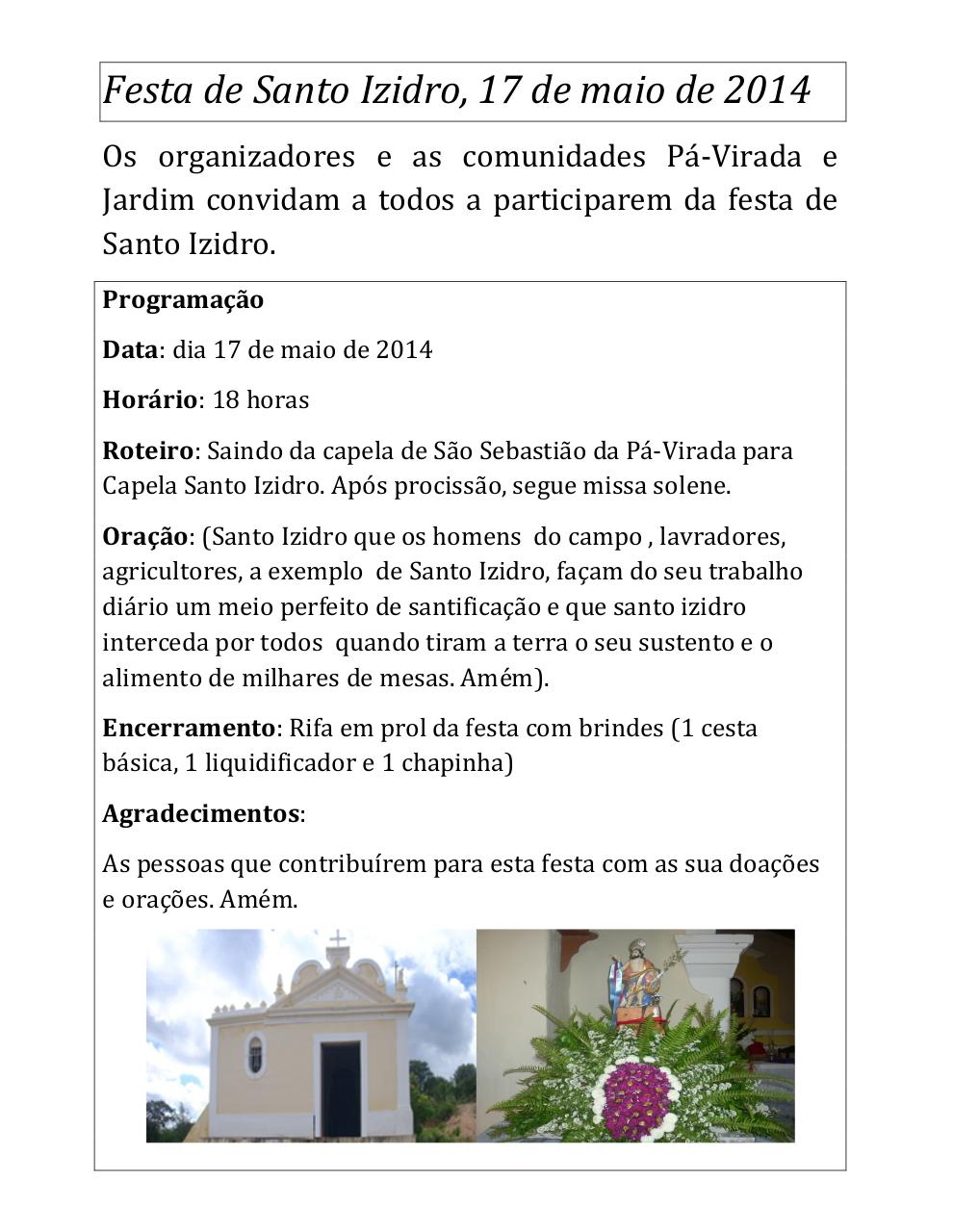 Document preview Festa de Santo Izidro 2014.pdf - page 1/1