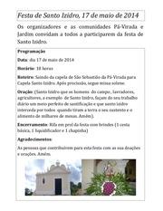 festa de santo izidro 2014 1