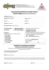 motack2014 rider participation registration form