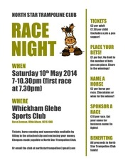 north star race night flyer