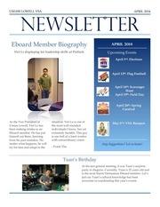 final april newsletter