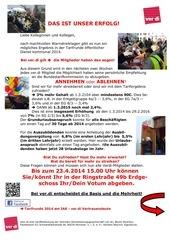 mitgliederbefragung 2014 vl info