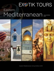 exotik tours middle east destination brochure