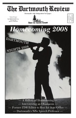 the dartmouth review 10 17 2008 volume 28 issue 3