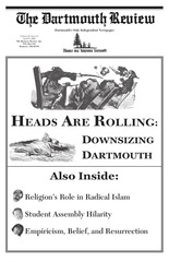 the dartmouth review 4 23 2009 volume 28 issue 16
