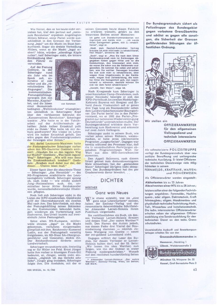 Document preview Spiegel 1960.pdf - page 1/1