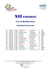 calendario xii mundialito junior 2014