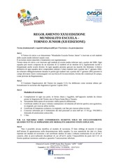 PDF Document regolamento xii mundialito junior 2014