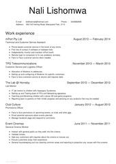 nali lishomwa resume 2014