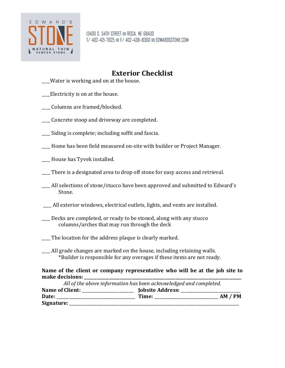 Document preview Builder Checklist 2014.pdf - page 2/3